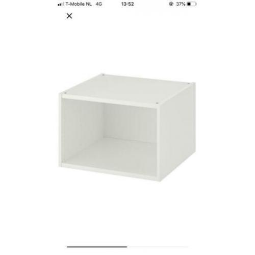 Platsa Ikea Basiselement Basis 60*55*40 nieuw in doos! Wit
